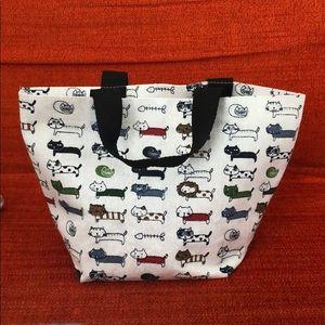 Handbags - Mini kitten canvas bag
